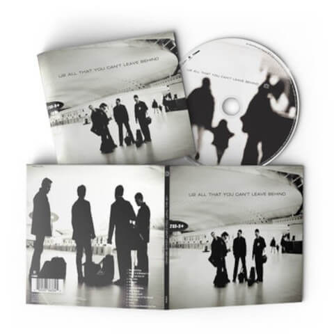 All That You Can't Leave Behind Standard 1CD von U2 - CD jetzt im U2 Shop Shop